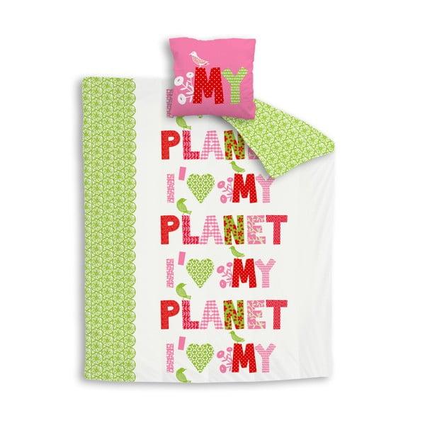 Pościel I love my planet, 200x200 cm