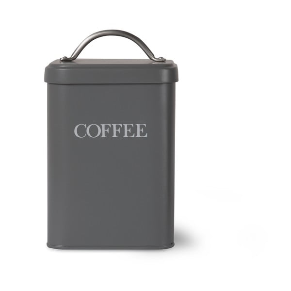 Pojemnik na kawę Garden Trading In Charcoal