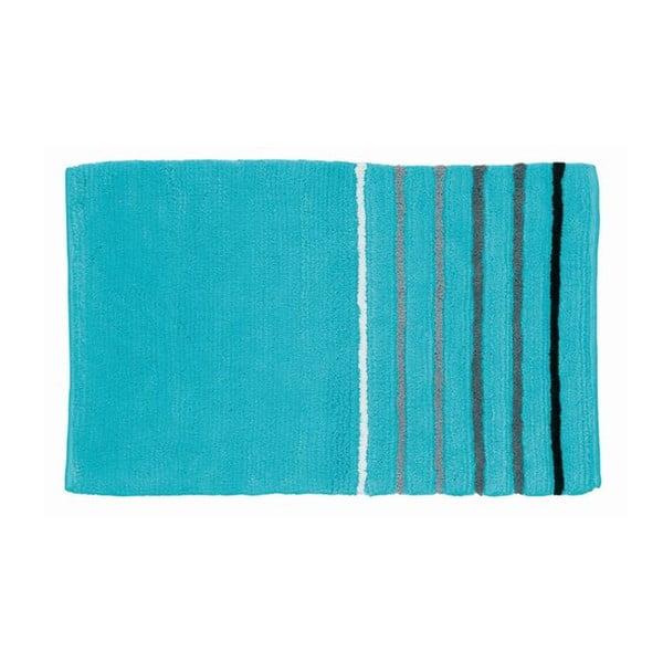 Dywanik łazienkowy Ladessa, niebieski, 50x80 cm
