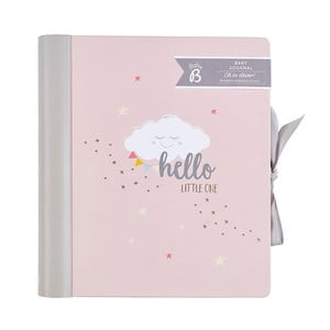 Różowy pamiętnik małego dziecka Busy B