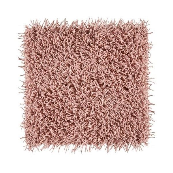 Różowy dywanik łazienkowy Aquanova Taro, 60x60cm