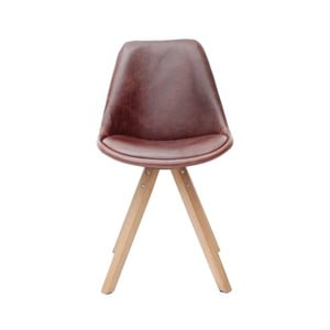 Brązowe krzesło LABEL51 Bari
