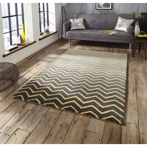 Dywan Spectrum Grey Yellow, 150x230 cm