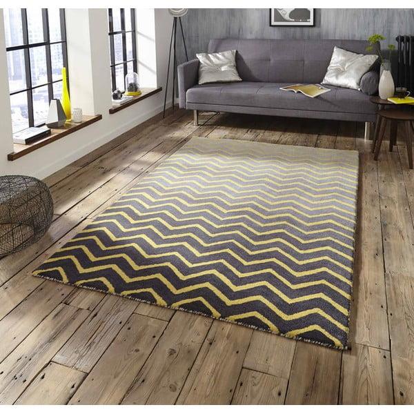 Dywan Spectrum Grey Yellow, 150x230 cm