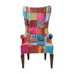 Fotel Kare Design Patchwork Velvet
