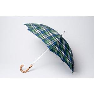 Parasol Tartan, niebieski