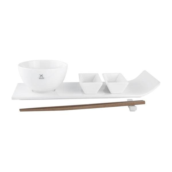 Porcelanowy zestaw do sushi