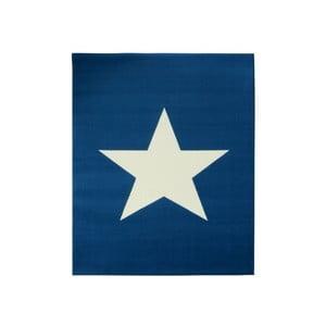 Niebieski dywan dziecięcy Hanse Home City & Mix, 140x200 cm