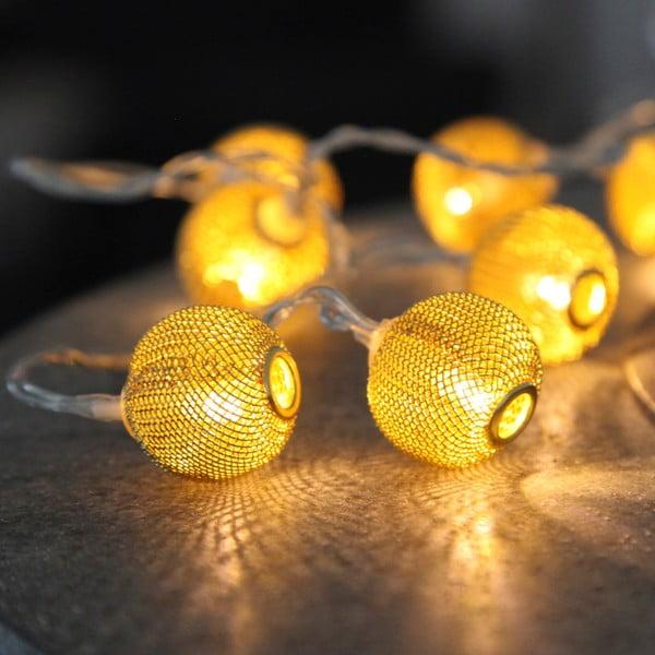 Girlanda świetlna w kolorze brązu Best Season Wire, 10 lampek