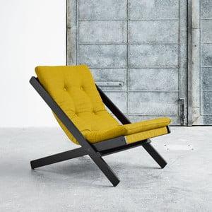 Fotel składany Karup Boogie Black/Amarillo