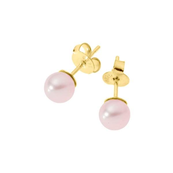 Kolczyki Pearls Pink