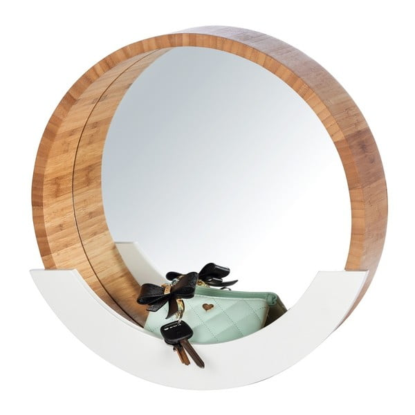 Bambusowe lustro Wenko Finja