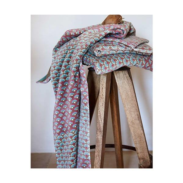 Ręcznik Blooming Tails Khaki, 70x140 cm