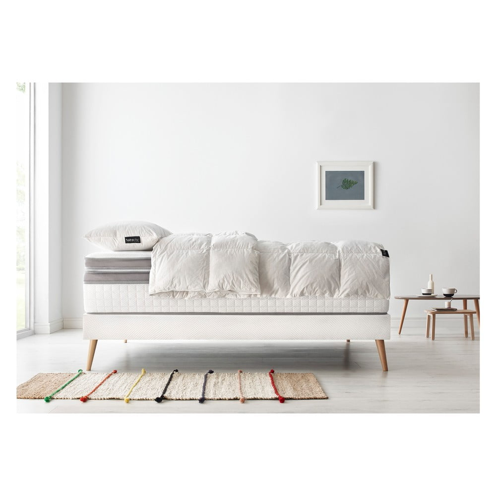 Komplet łóżka 2 Osobowego Materaca I Kołdry Bobochic Paris Bobo 90x200 Cm 90x200 Cm Bonami