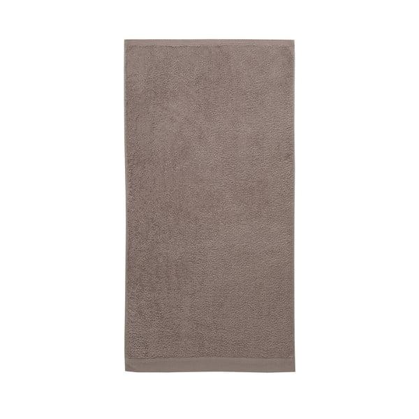 Komplet 3 ręczników Pure Cement, 60x110 cm