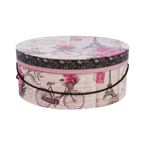 Zestaw 3 pudełek Paris in Pink
