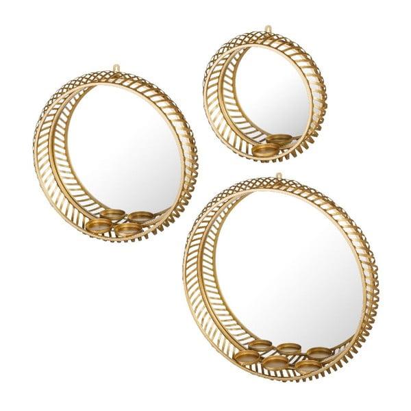 Zestaw 3 luster Arabian Gold