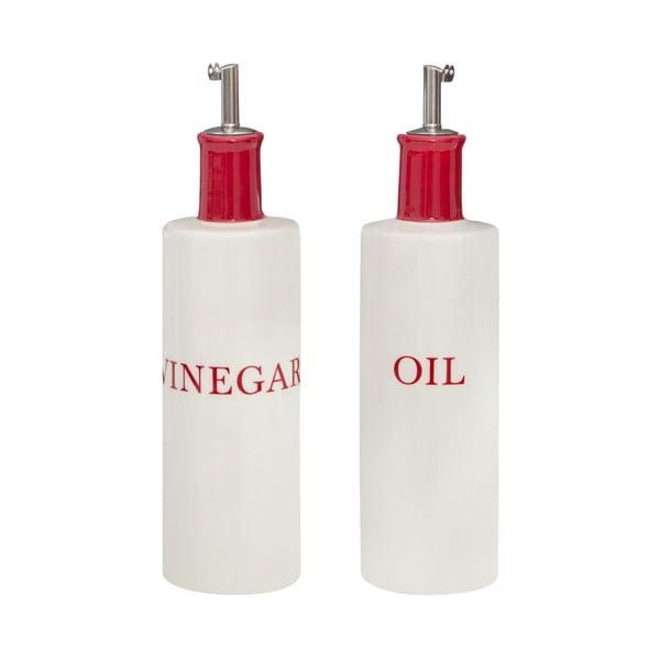 Komplet 2 butelek na olej i ocet Premier Housewares Hollywood