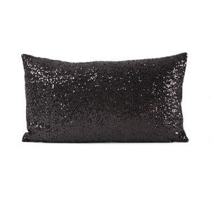 Poszewka   na poduszkę w czarnej barwie Luxuro, 55x30 cm