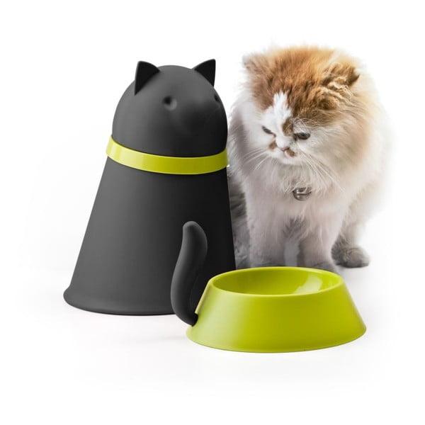 Miska dla kota QUALY Kitt, czarna