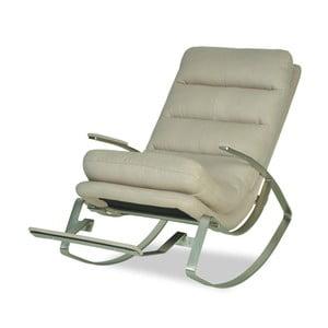 Beżowe   krzesło bujane Garageeight Rockport