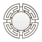 Lustro ścienne z metalową ramą w kolorze bronzu Premier Housewares Jatal