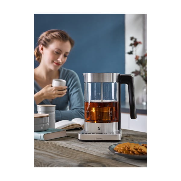 Przezroczysty czajnik nierdzewny 2w1 WMF Lono Tea