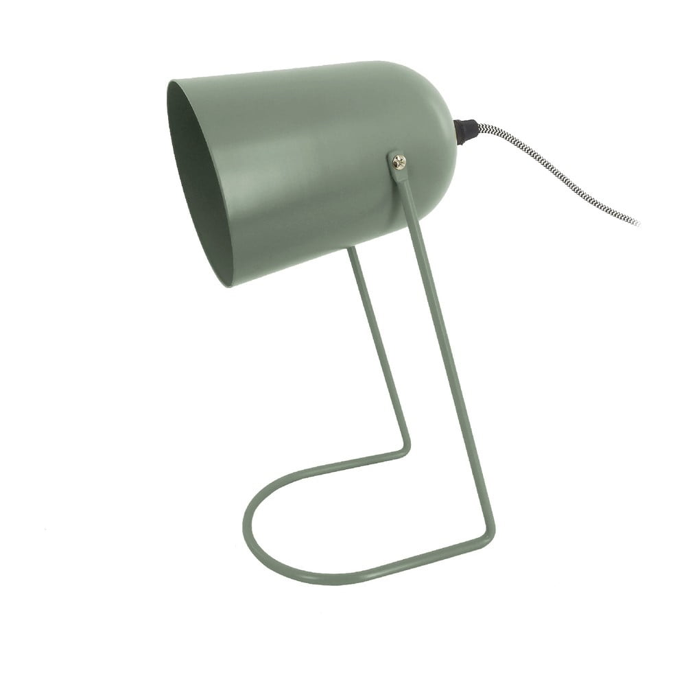 Zielona lampa stołowa Leitmotiv Enchant