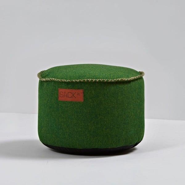 Puf RETROit Cobana Drum Green