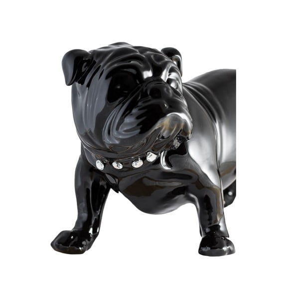 Ceramiczna dekoracja Bulldog Dark