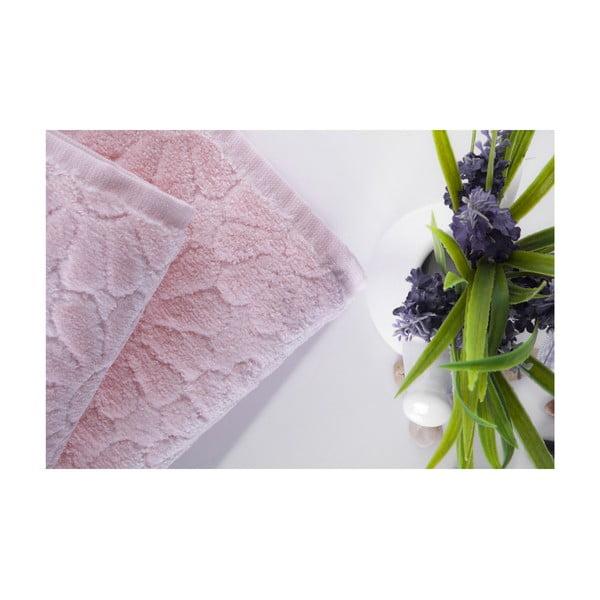Zestaw 2 ręczników Samba Pink, 70x140 i 50x90 cm