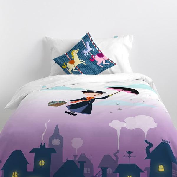 Bawełniana pościel dziecięca z poszewką na poduszkę Mr. Fox Spit Spot, 140x200 cm