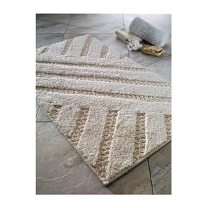 Beżowy dywanik łazienkowy Confetti Bathmats Aspendos, 55x60 cm