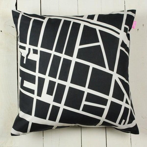 Poszewka na poduszkę My city, 50 x 50 cm