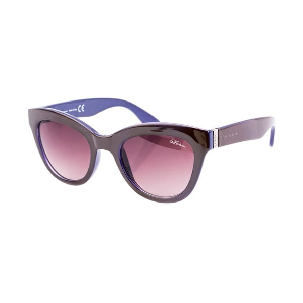 Damskie okulary przeciwsłoneczne Lotus L759702 Dark Brown