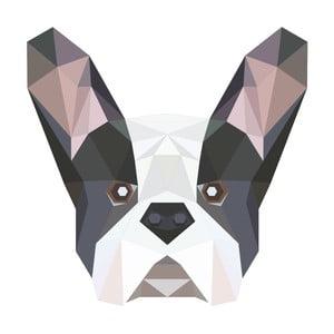 Naklejka Fanastick Origami Bulldog