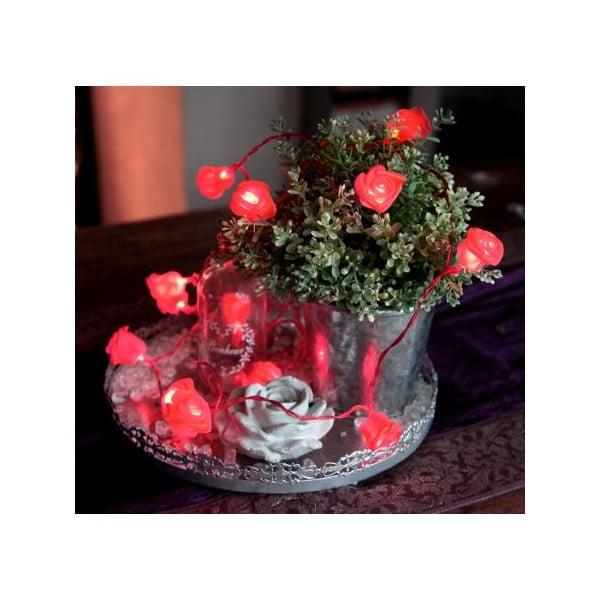 Świecący łańcuch LED  Best Season Red Roses