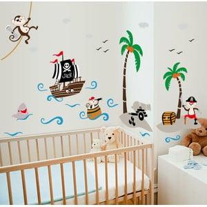 Naklejka Fanastick Pirate and Boat