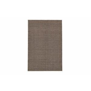 Ręcznie tkany kilim Brown Retro Kilim, 110x153 cm