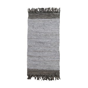 Šedý vzorovaný koberec Geese Ceylon, 120x 60 cm