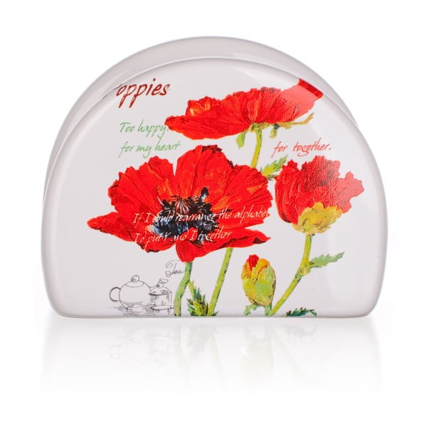 Ceramiczny serwetnik Banquet Red Poppy