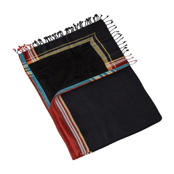 Ręcznik Senel Black, 100x178 cm