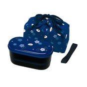 Pudełko na lunch z woreczkiem Furawa Blue, 630 ml
