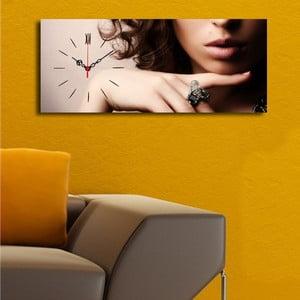 Obraz z zegarem Femme Fatale