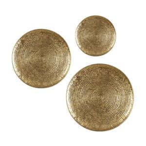 Zestaw 3 tac Round Dorado