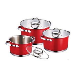 Zestaw Cookware Red, 6 szt.