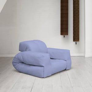 Fotel rozkładany Karup Hippo Blue Breeze