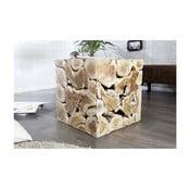 Stolik z litego drewna tekowego SOB