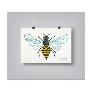 Plakat Americanflat Honey Bee, 30x42 cm