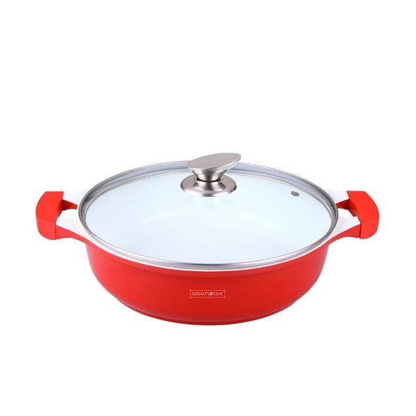 Garnek Casserole 30 cm, czerwony